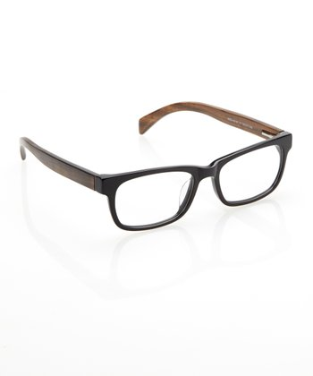 Black & Walnut Sloane Eyeglasses