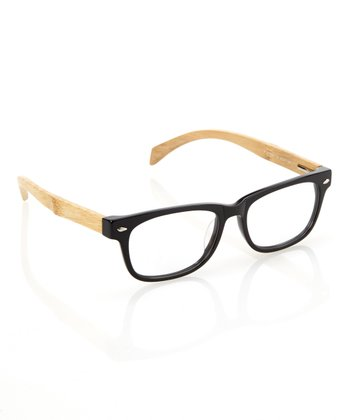 Black & Bamboo Wilshire Glasses