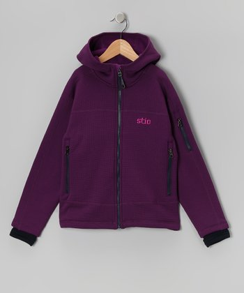 Violet Seeker Zip-Up Hoodie - Kids