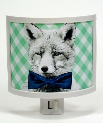 Fox Bow Tie Night-Light