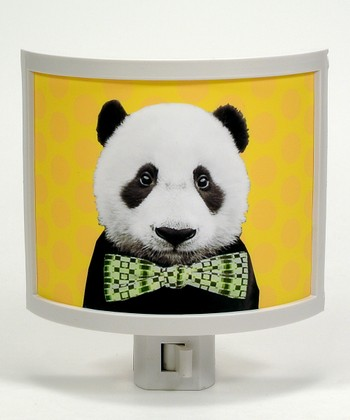 Panda Bow Tie Night-Light