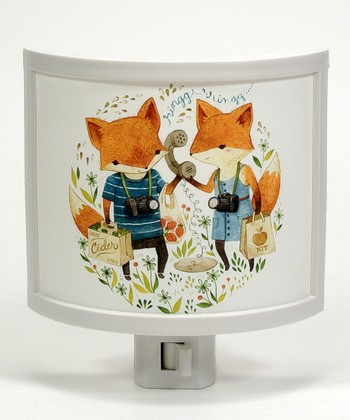 Fox Picnic Night-Light