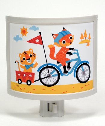 Fox & Tiger Fun Night-Light