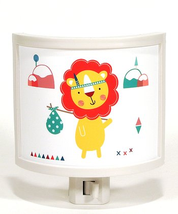 Hiking Lion Night-Light