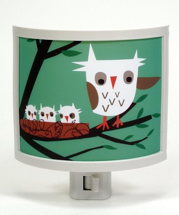 Owl Family Night-Light