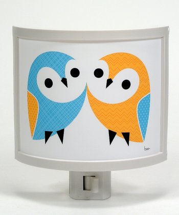 Owl Pair Night-Light