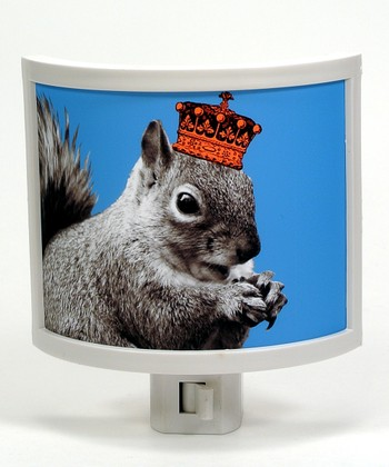 Squirrels Rule Night-Light