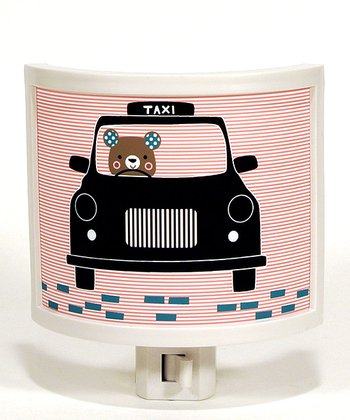 Taxi Bear Night-Light