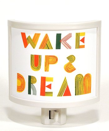 Wake Up & Dream Night-Light