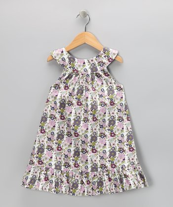 Violet Vine Yoke Dress - Toddler & Girls