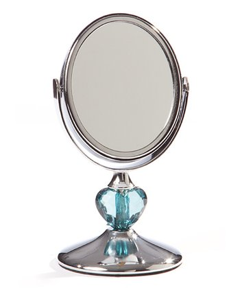 Turquoise & Chrome Melody Mirror