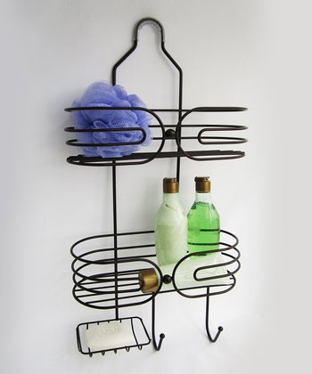 Orb Sphere Two-Tier Shower Caddy
