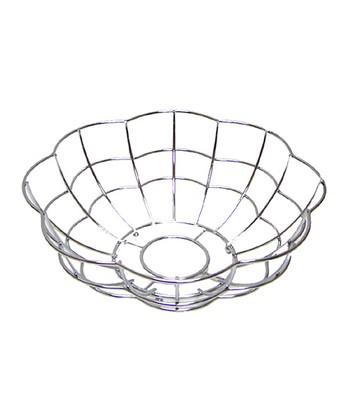 Chrome Scallop Basket