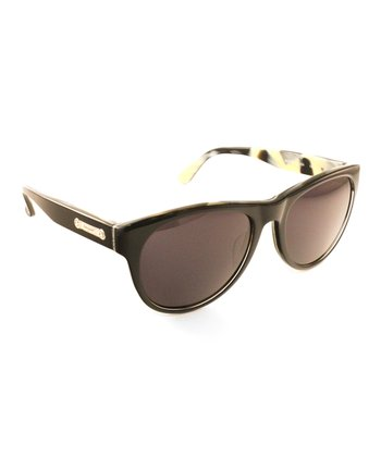 Black Horn Marbled Sunglasses