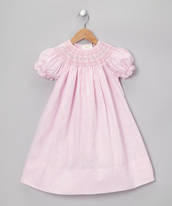 Pink Sophie Bishop Dress - Toddler & Girls