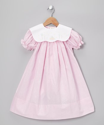 Pink Sophie Bishop Dress & Birthday Collar - Infant & Toddler
