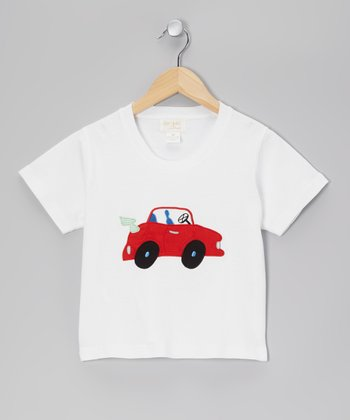 White Car Tee - Kids