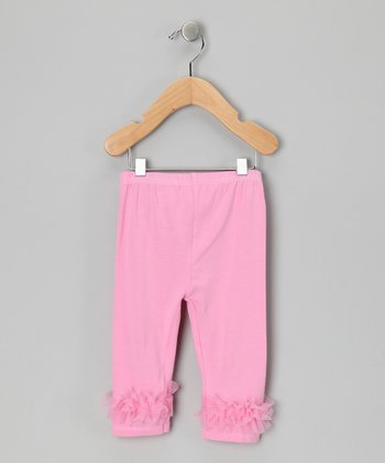Pink Ruffle Leggings - Infant & Toddler
