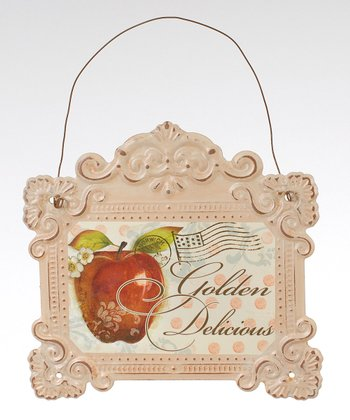 'Golden Delicious' Apple Sign