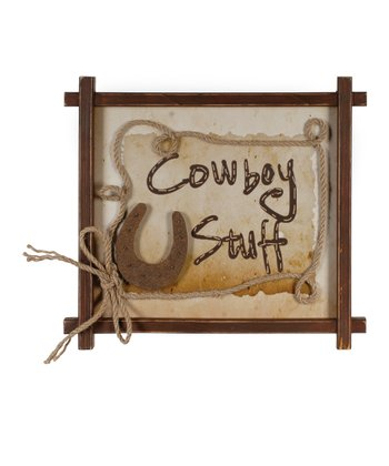 'Cowboy Stuff' Wall Art