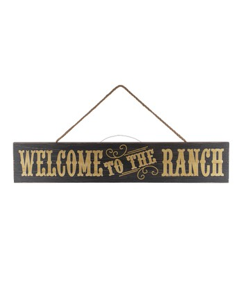 'Welcome to the Ranch' Wall Art