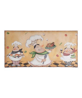 Three Chefs Wall Art