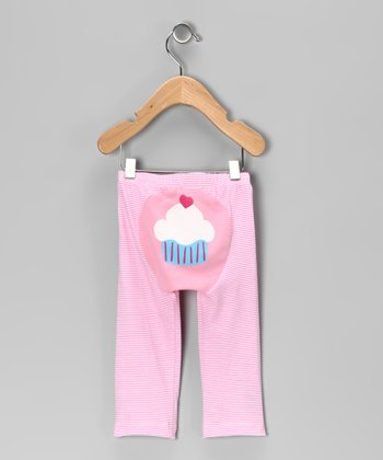 Pink Stripe Cupcake Pants - Infant & Toddler