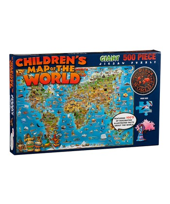 Illustrated World Jigsaw Puzzle