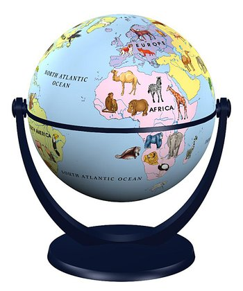 Junior Animals Mini Globe