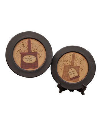 Basket of Blessing Plate Set
