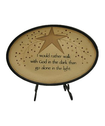 'Walk with God' Tray