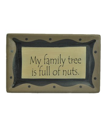 'Family Tree' Tray Wall Art