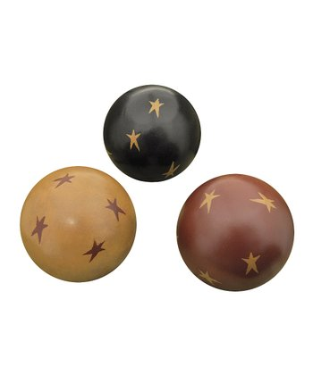 Star Decorative Orb Set