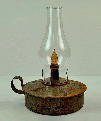 Rust Kitchen Lantern