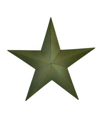 Green Medium Star Wall Art