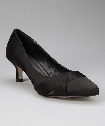 stefani collection Black Alice Kitten Heel