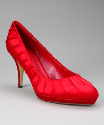 stefani collection Red Amanda Pump