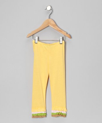 Lemon Sorbet Leggings - Infant, Toddler & Girls
