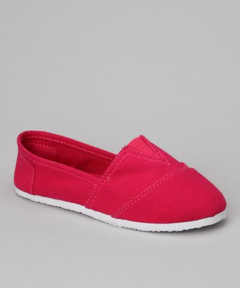 Fuchsia Cutie-15K Slip-On Shoe