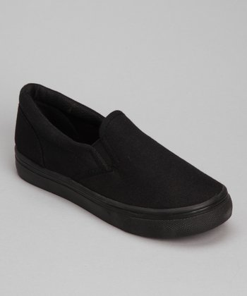 Black Joe-18K Slip-On Shoe