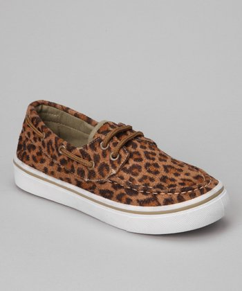 Leopard Joe Shoe