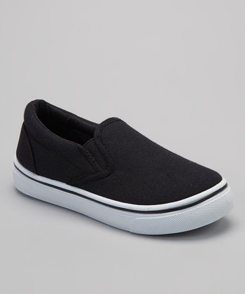 Black & White Slip-On Sneaker