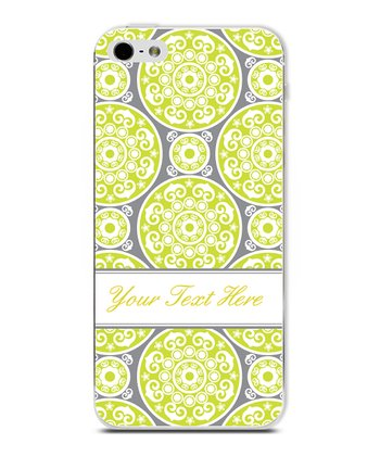 Green Circle Classic Elegant Personalized Case for iPhone 4/4S