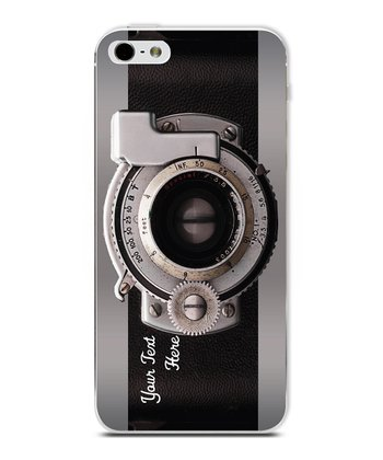 Camera Personalized Case for iPhone 5