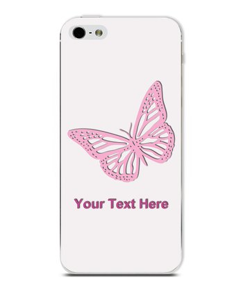 Butterfly Personalized Case for iPhone 5