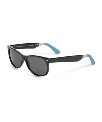 Black & Light Blue No Logo Beachmaster - Women & Men
