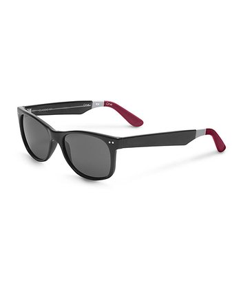 Black & Red No Logo Beachmaster - Women & Men