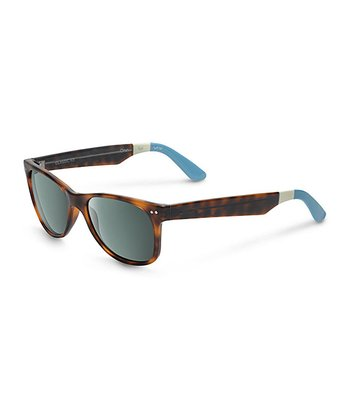 Tortoise & Light Blue No Logo Beachmaster - Women & Men