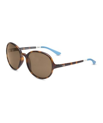 Tortoise & Light Blue Deoria - Women