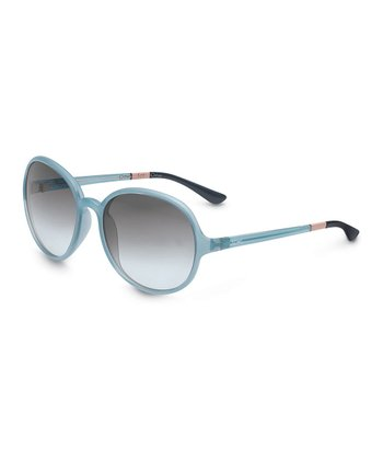 Crystal Sea Foam & Dusty Blue Deoria - Women